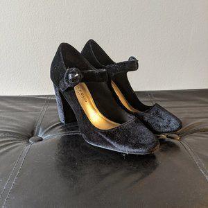 Christian Siriano Payless Velvet Mary Jane Heels